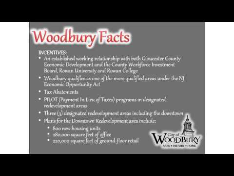 Woodbury NJ's Available Commercial Property-Video Brochure
