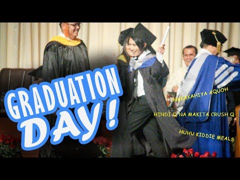 THE TIME I MAKE RAMPA ON MY GRADUATION DAY! // Life of ...