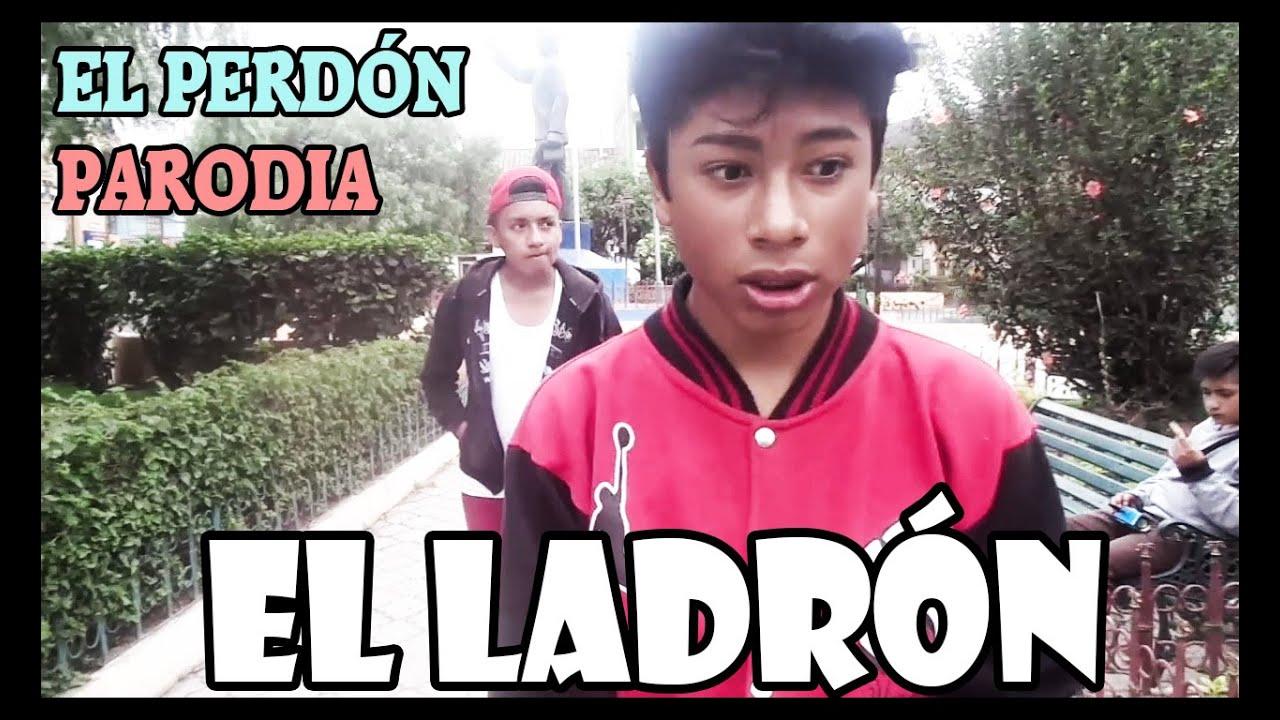 """Nicky Jam - El Perdón PARODIA """"EL LADRÓN"""""""