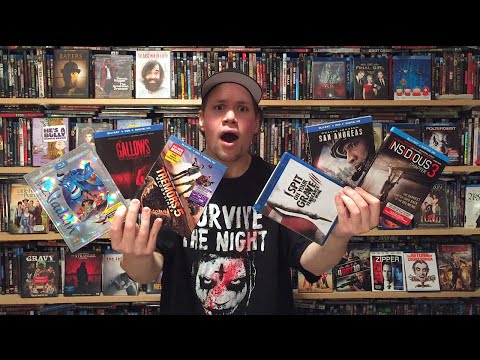 My Blu-ray Collection Update 10/3/15 : Blu ray and Dvd Movie Reviews