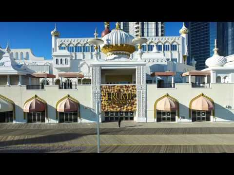 Donald Trump Taj Mahal Casino, Atlantic City, New Jersey