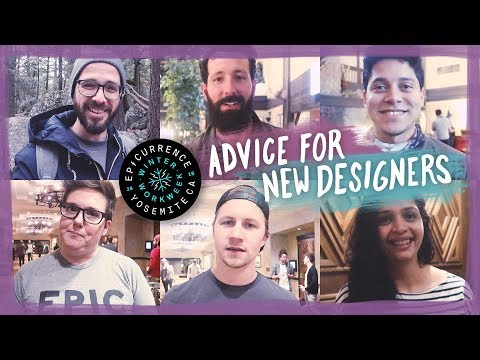 Advice for new designers from Epicurrence!