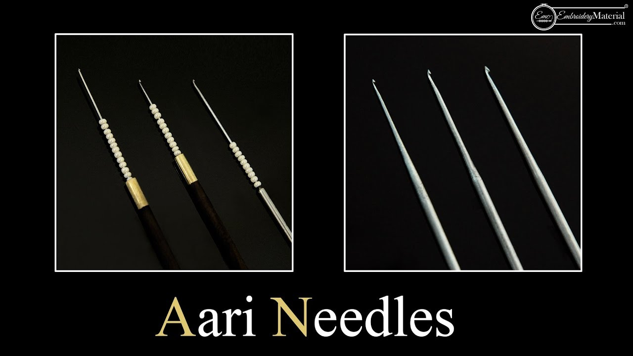 Know Your Embroidery Hooks Details About Aari Hand Embroidery