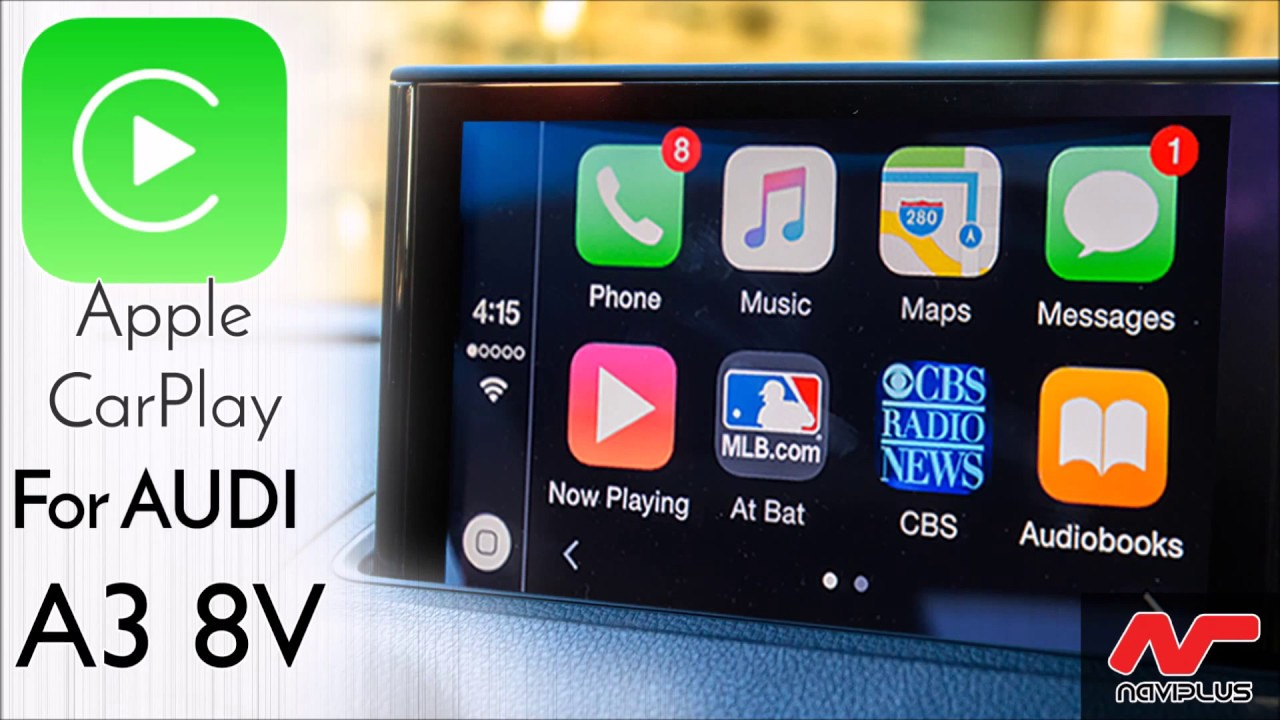 Audi A3 Carplay >> AUDI 8V A3 - MMi Integrated Apple CarPlay demonstration ...