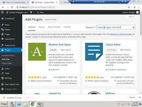 Warning invalid argument supplied for foreach wordpress plugin