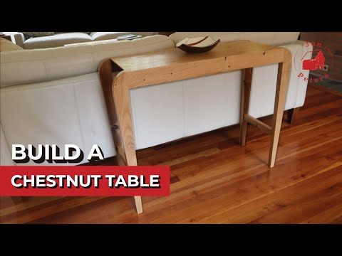 Build a Chestnut Table out of Reclaimed Wood!
