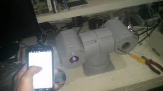 PTZ camera control from Nexus with Node.js