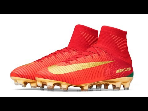 8ef5528d7 Special Portugal Boots for Cristiano Ronaldo: CR7 Mercurial Campeoes -  YouTube