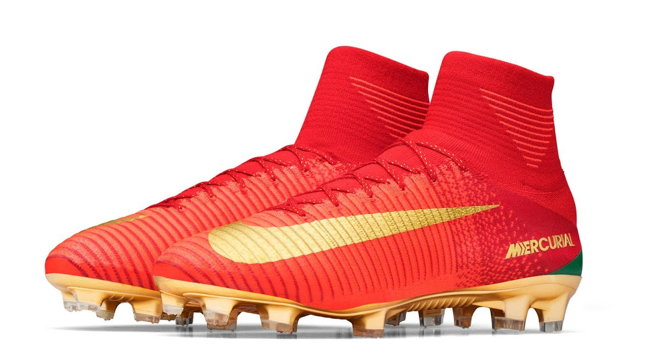 quality design 18562 40061 Special Portugal Boots for Cristiano Ronaldo: CR7 Mercurial Campeoes