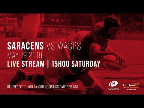 Live Stream | Saracens Men V Wasps (Premiership Semi-Final, 2018)