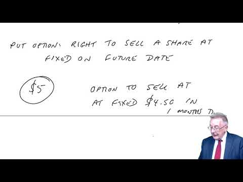 Share options and option pricing (part 1) - ACCA (AFM) lectures