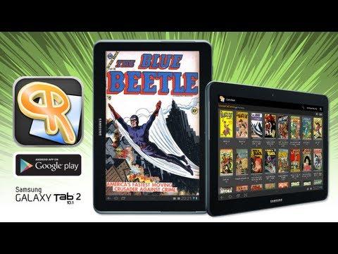 ComicRack On Samsung Galaxy Tab 2 10.1