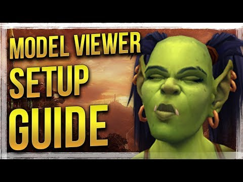 How to Install & Use - WoW Model Viewer Guide - YouTube