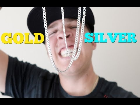 Will Silver scratch your Gold CHAINS???
