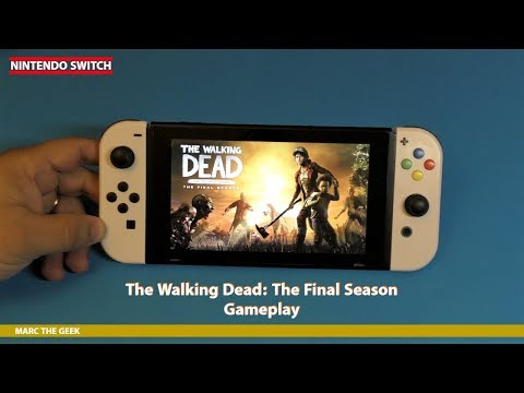Nintendo Switch The Walking Dead: The Final Season Gameplay