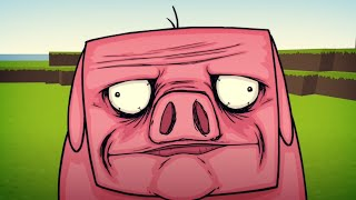 One of Sam Green's most viewed videos: EPIC MINEQUEST 1 | Pigusta by Sam Green Media