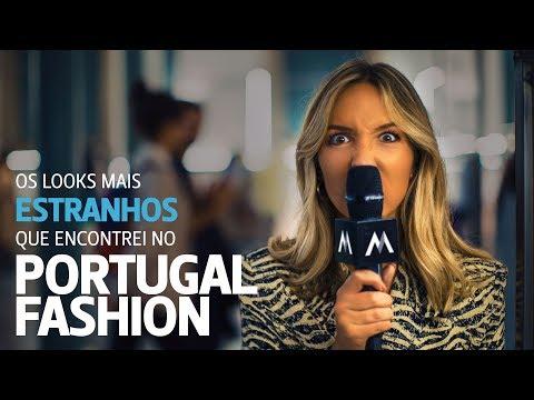 Os looks mais ESTRANHOS que encontrei no Portugal Fashion