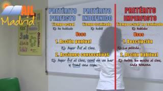 Lección de Español Online - Nivel: A2 Lección 8 - Contraste Pasados: Parte 4