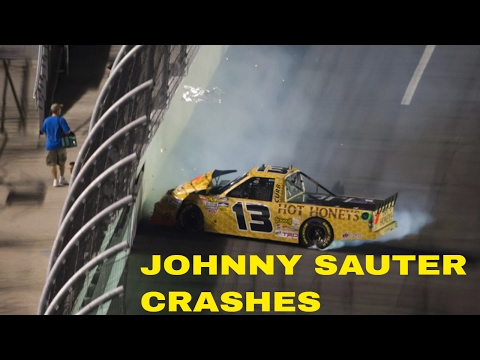 Johnny Sauter Crashes