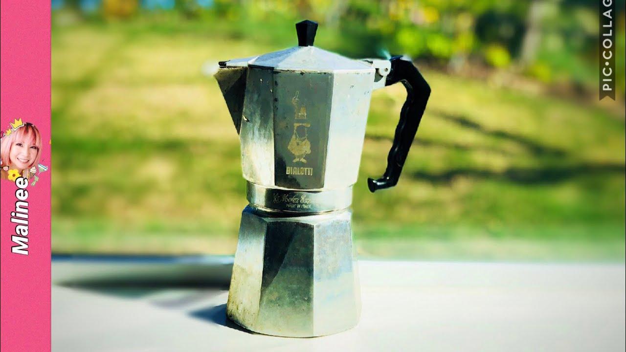 วิธีชงกาแฟสด Moka Pot เคล็ดลับวิธีใช้หม้อต้มกาแฟ รีวิวBialetti Moka Express 9 Cups