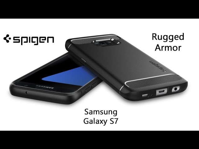 Spigen Rugged Armor Case for Galaxy S7 - YouTube