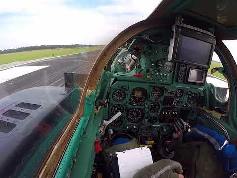 MiG-23UB takeoff from