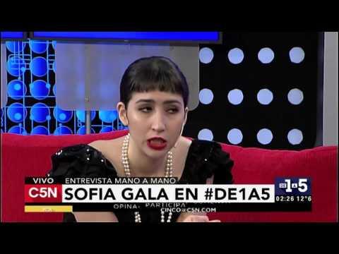 C5N - De1a5: Entrevista a Sofía Gala (Parte 2)