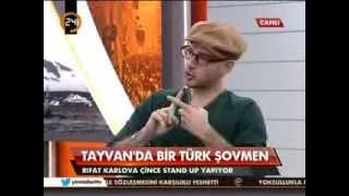 Tayvan'da bir Türk şovmen (Rıfat Karlıova 24'e konuk oldu) - 1.parça