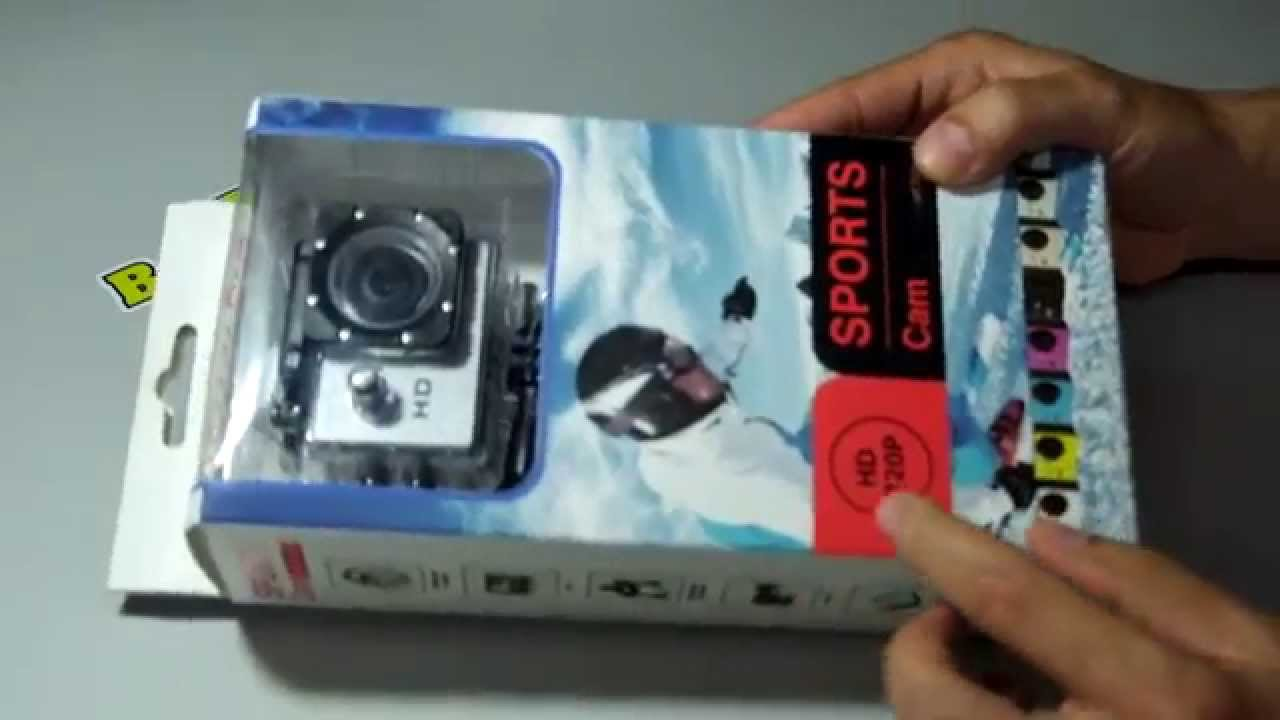 action camera hd 1080p instructions