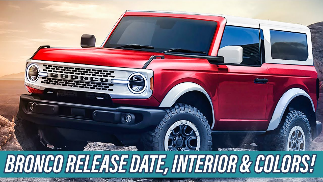 2021 Ford Bronco Off-Road Testing, 7-Speed Manual, Reveal ...