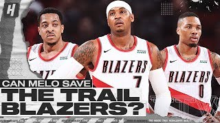 Can Melo Save The Blazers? | Through The Wire Podcast