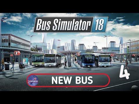 Bus Simulator 18 l New Bus l Episode 4 |