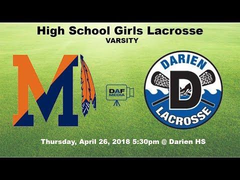 Darien Varsity Girls Lacrosse vs. Manhasset