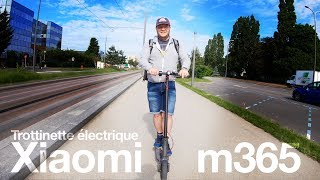 סקוטר חשמלי Xiaomi m365: המבחן האולטימטיבי הדרכה!