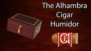 The Alhambra Cigar Humidor