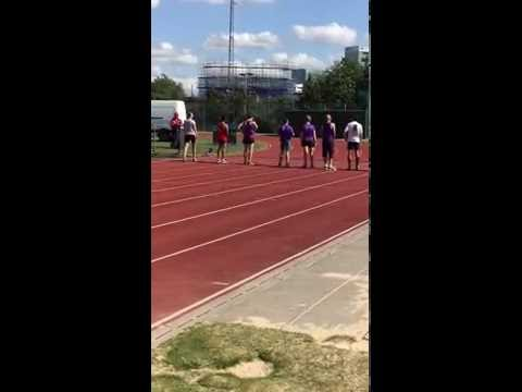 East London Runners at the London Athletics Community Games (4x1 mile relay)