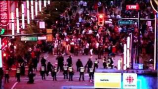 Vancouver Riot June 2011 Canucks Lose to Bruins Stanley Cup ( Must Watch)