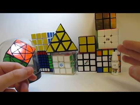 Обзор моей коллекции головоломок! Первое видео