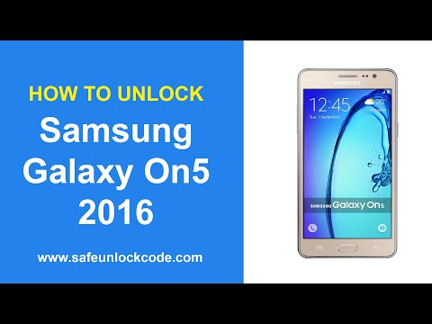 Mobile Info: Samsung Galaxy On5 Reset