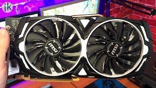 MSI Geforce GTX 1060 3GB - Распаковка и тест видеокарты в играх и майнинге