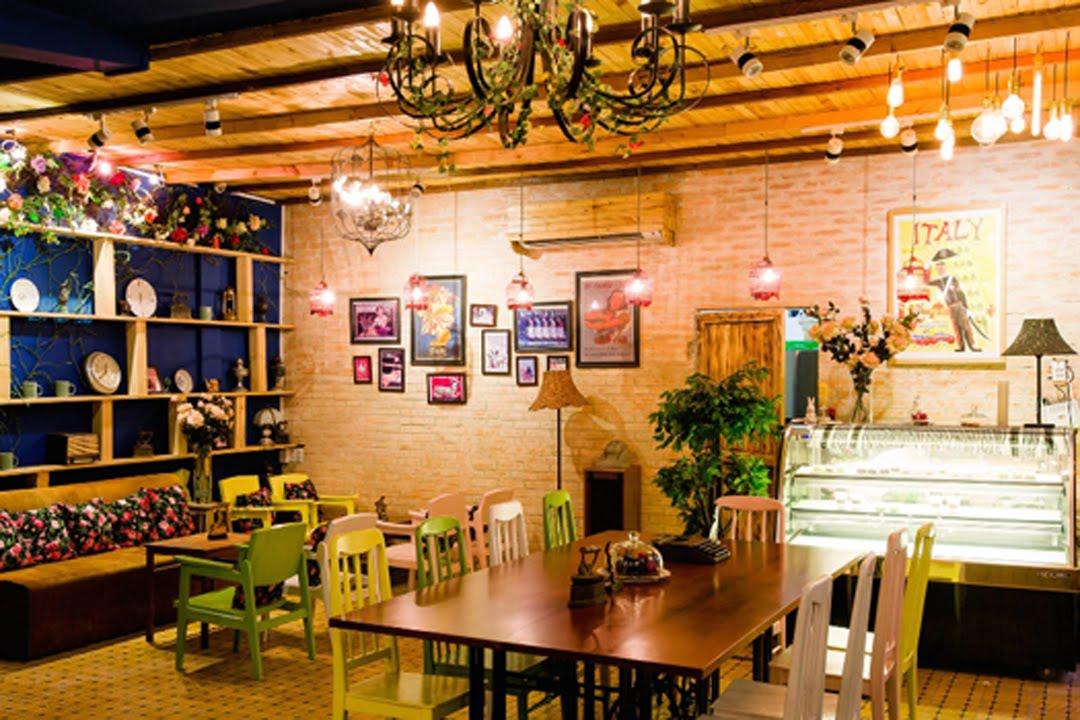 Trang trí quán cafe bằng tranh 3D đang là xu hướng hiện nay