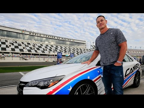 John Cena's priceless reaction to grid snub