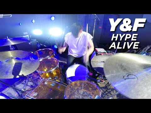 Hype + Alive | DRUMS | Hillsong Y&F Live
