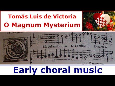 Tomás Luis de Victoria - O Magnum Mysterium (The Sixteen)