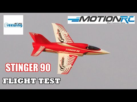 FLIGHT TEST - FREEWING STINGER 90 RC EDF JET PNP - DEANO - 2019