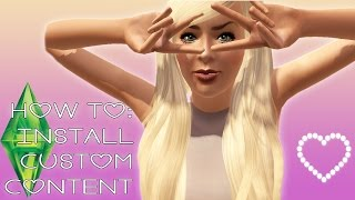HOW TO: Custom Content installieren [GERMAN] [SIMS 3]