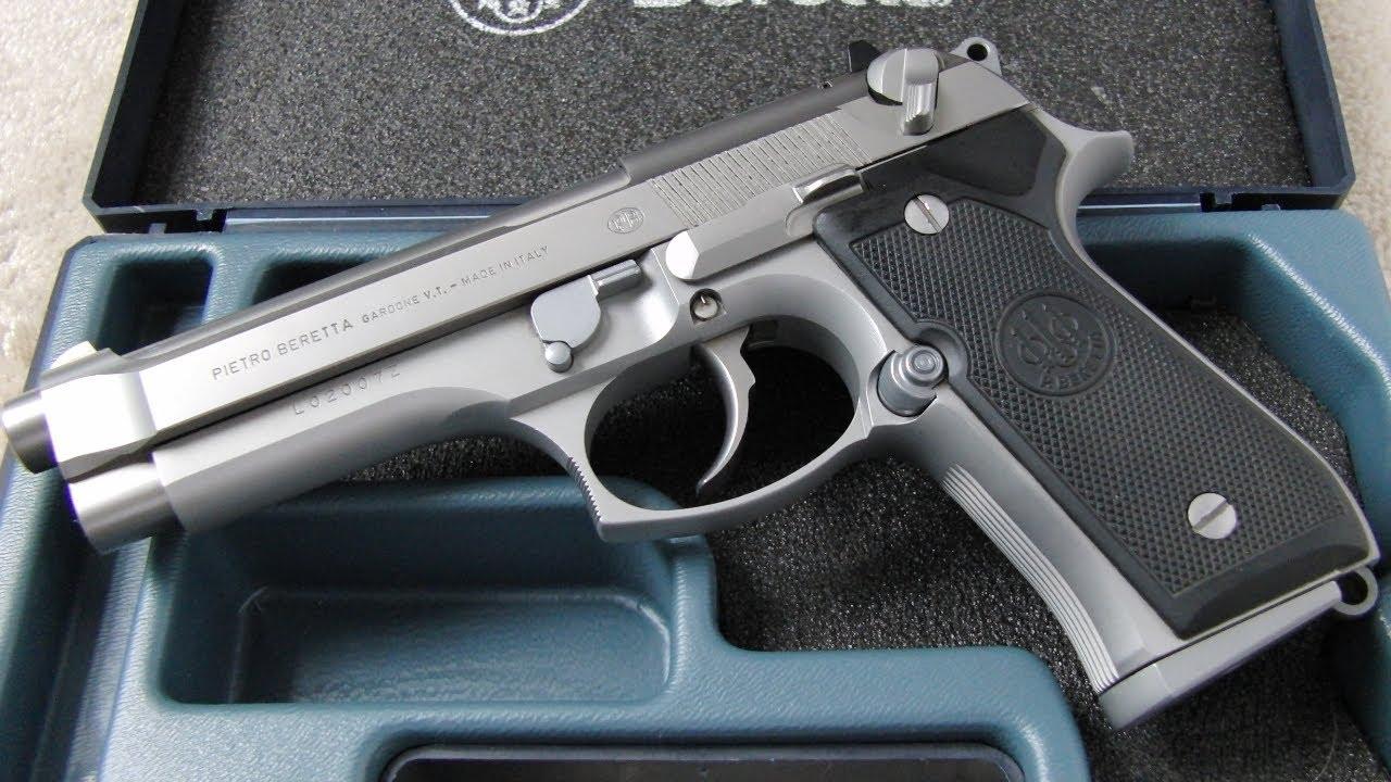 Beretta 92FS 9mm Para Demonstration