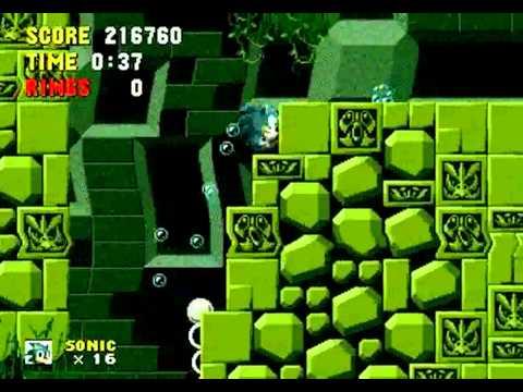 Sonic The Hedgehog: The One Ring (Genesis) - Longplay