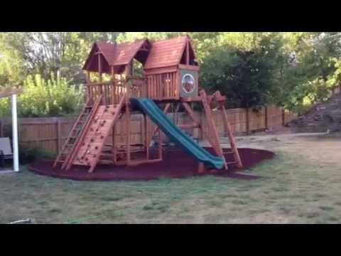 Backyard Playworld Ultimate Backyard in Omaha!