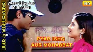 Pyar Ishq Aur Mohabbat-Full video   Ost.Pyar Ishq Aur Mohabbat  Lirik Terjemahan Indonesia